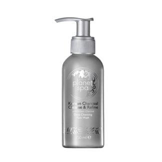 Intensywnie oczyszczający płyn do mycia twarzy z aktywnym węglem 150 ml